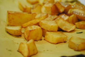 Patate fritte, quelle vere!